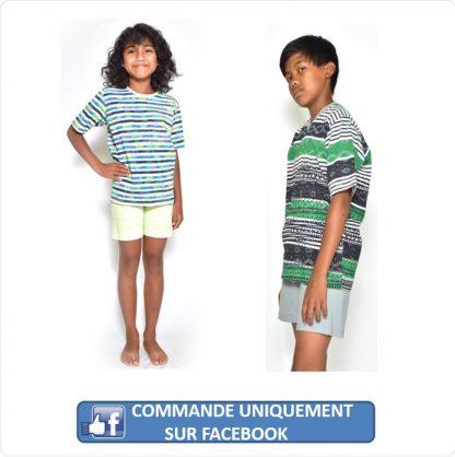 Ensemble haut et short enfant